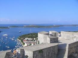 Vista desde la Fortaleza de Hvar
